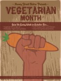 Vegetarian Month Flyer