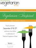 Vegetarian Week Flyer