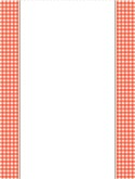 Gingham Menu Background