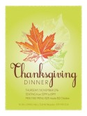 Thanksgiving Prix Fixe Flyer