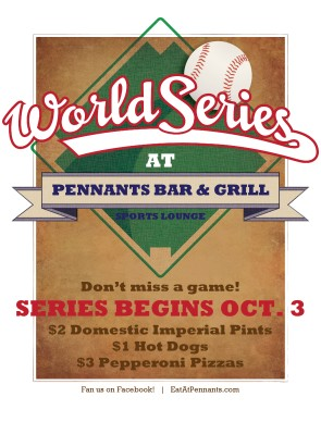 World Series Flyer | Sports Flyer