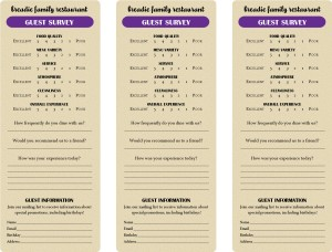 comments html template - american style comment card marketing archive