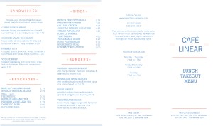 Customize Cafe Restaurant Takeout Menu