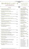 Market Cafe Menu Long