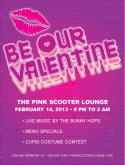 Bar Valentines Day Flyer