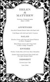 Fine Restaurant Wedding Menu