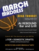 March Madness Bracket Flyer