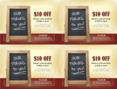 Restaurant Coupon Template