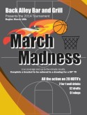 March Madness Dates Flyer
