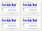 Kids Coupon Template