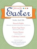Easter Sunday Flyer