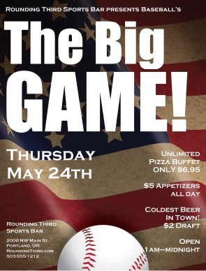 Baseball Opening Day Flyer Sports Flyer