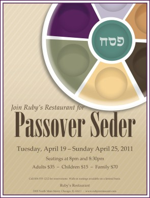 Customize Passover Flyer