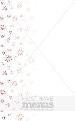 Spring flower menu background menu borders mightylinksfo