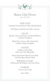 Buffet Breakfast Event Menu