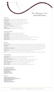 Customize Wine Bar Menu Long
