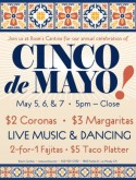 Traditional Cinco de Mayo Flyer