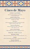 Traditional Cinco de Mayo Menu