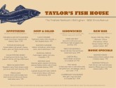 Blue Fish Menu