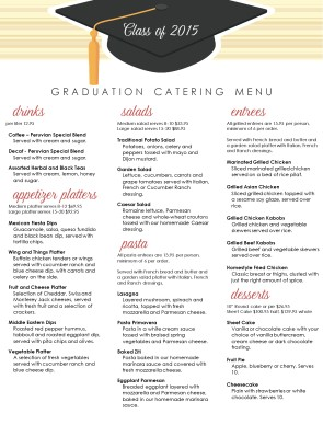 event catering menu templates and designs musthavemenus