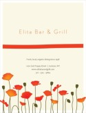 Cafe Bistro Menu Cover