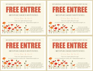 Free Lunch Coupon Template Bistro Coupon Template  Marketing Archive