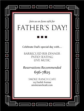 Pastor Appreciation Dinner Flyer