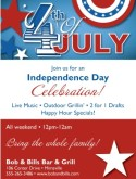 July 4th Celebration Flyer