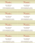 Family Dining Business Cards