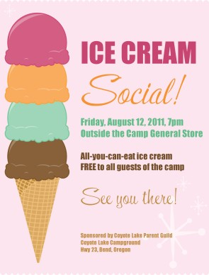 Customize Ice Cream Flyer