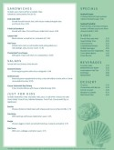 Local Seafood Menu Page 2