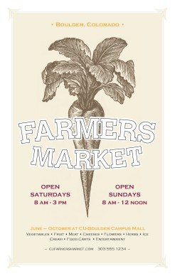 Customize Farm Market Flyer