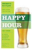 Bar Happy Hour Flyer