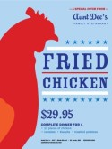 Archive Fried Chicken Flyer