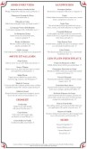 Brasserie Menu Long Page