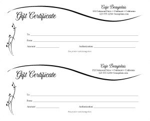 Dinner gift certificate 2up marketing archive customize dinner gift certificate 2up yadclub Choice Image