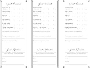 Elegant comment card marketing archive for Comments html template