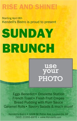 Customize Restaurant Breakfast Flyer