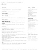 Fine Dining Menu Template