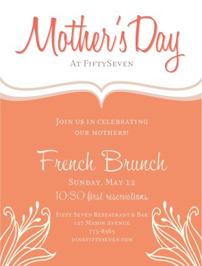 Customize Mothers Day Event Flyer