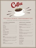 Urban Coffee Menu
