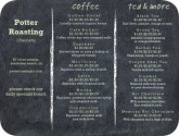 Modern Coffee Menu