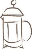 Coffee French Press Clipart