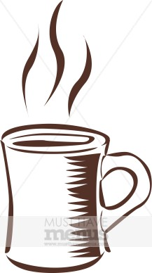 Steaming Coffee Clipart