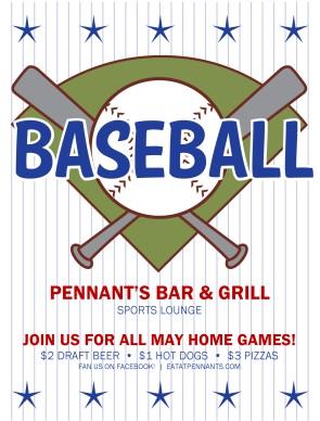 Baseball Game Flyer | Sports Flyer