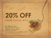 Restaurant Email Coupon