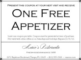 Restaurant Marketing Coupon