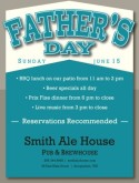 Flyer for Fathers Day