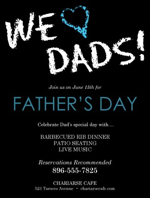 Customize Fathers Day Event Flyer