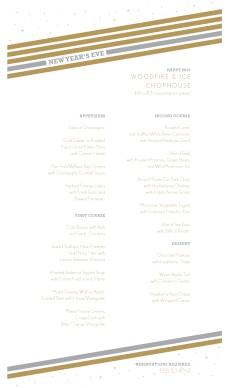 new year prix fixe menu new year s eve menus